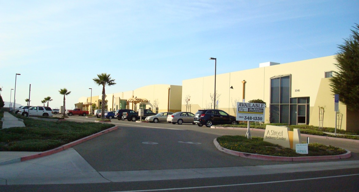 Industrial / Warehouse / RD Building, For Sale, A Street Business Center, A Street, Listing ID 1007, Santa Maria, Santa Barbara, California, United States, 93455,