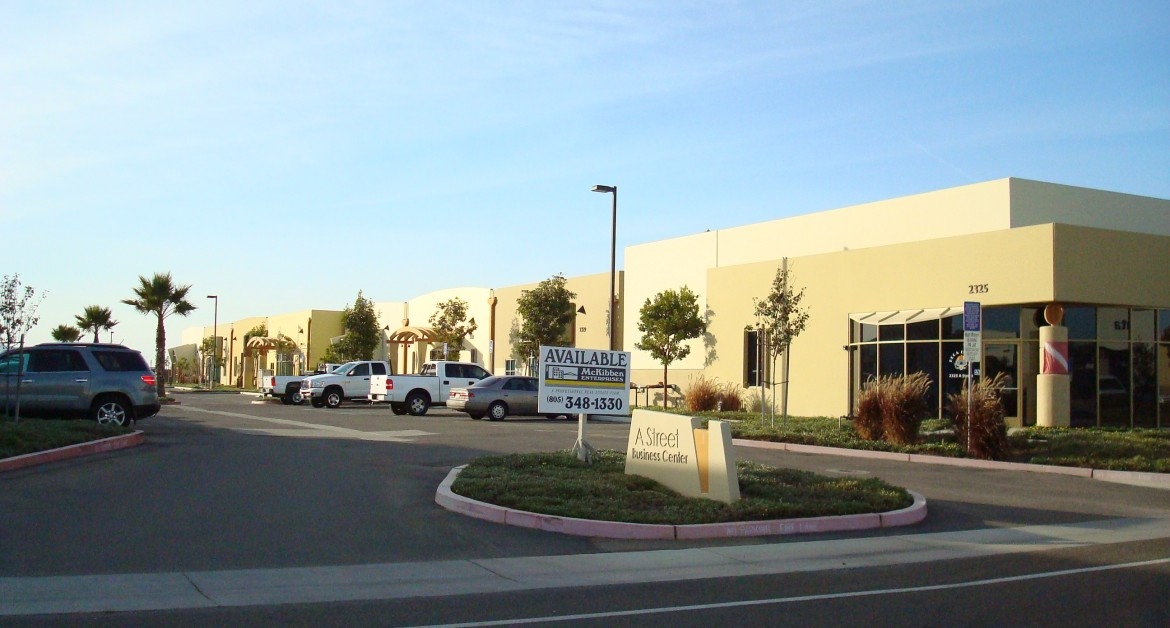 Industrial / Warehouse / RD Building, For Lease, A Street Business Center, A Street, First Floor, Listing ID 1009, Santa Maria, Santa Barbara, California, United States, 93455,